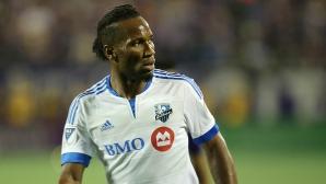 Дрогба беше глобен заради отказа си да влезе в игра за Монреал