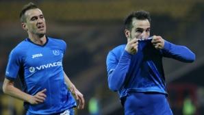 """Левски - Берое 2:0, две греди за """"сините"""""""