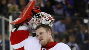 Детройт с четвърта поредна победа в НХЛ