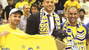 Треньорът на баскетболния Макаби Тел Авив беше уволнен