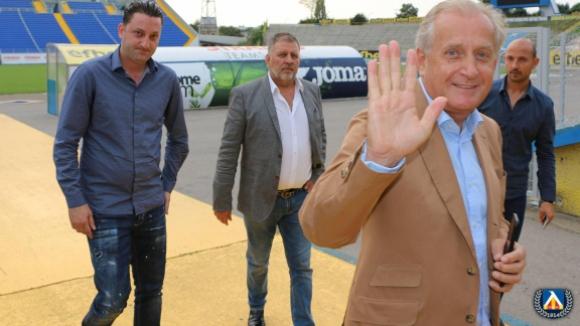 """Спас Русев на """"Герена"""" за сблъсъка с Черно море"""