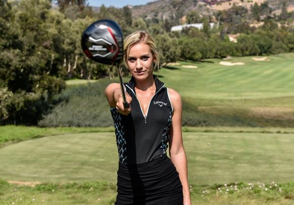 Пейдж Спиранак с едни гърди напред пред конкуренцията в голфа (галерия)
