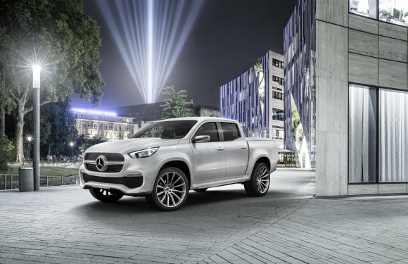 Това е бъдещият пикап на Mercedes