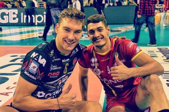 Български волейболист не усетил земетресението в Италия