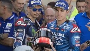 Изпуска ли Лоренсо и третото място в MotoGP?