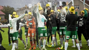 Скромният ИФК Мариехамн отпразнува първата си титла на Финландия