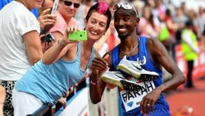 Мо Фара ще бяга за последно на Диамантената лига в Лондон през 2017-а