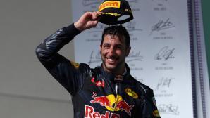 Рикардо: Заслужавах второто място в САЩ