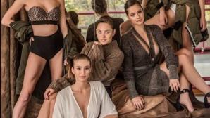 """""""Златните момичета"""" влязоха в ролята на модели (галерия)"""