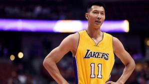 ЛА Лейкърс освободи китаец при определянето на финалния ростър