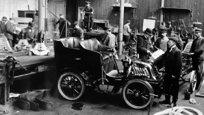 1905 година: Първият индустриален двигател на Scania