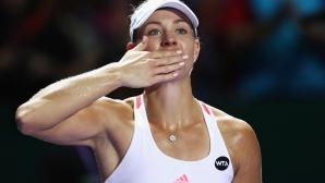 Кербер с втора победа на Шампионата на WTA