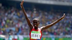 Рут Джебет се прицели и в световна титла след олимпийската