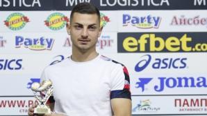 Героят за ЦСКА-София от последния кръг: Йорданеску ми каза да влизам и да вкарвам