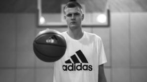 Кристапс Порзингис се присъедини към adidas Basketball