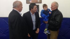Валентин Йорданов откри новата зала в Шивачево