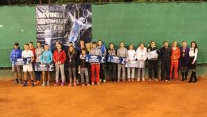 Рекорден брой деца участваха в тенис турнирите на DEVIN през 2016