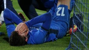 """Левски - Черно море 0:2, греда за """"сините"""""""