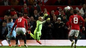 Глътка въздух за Моуриньо, Ман Юнайтед се справи с резервите на Сити (видео)
