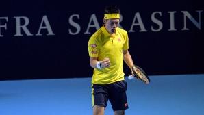Кей Нишикори продължава напред в Базел
