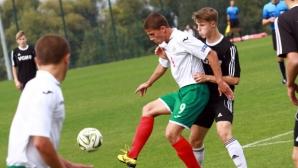 Юношите до 16 играят две контроли с Македония