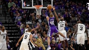 Сан Антонио с втора поредна победа в НБА