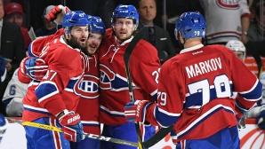 Монреал и Детройт продължиха победните си серии в НХЛ