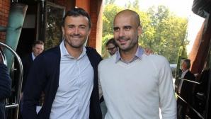 Енрике: Гуардиола ще се върне на пътя на победите и то с атрактивен футбол
