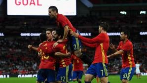 """Испания възкръсна на """"Уембли"""" след 89-ата минута (видео + галерия)"""