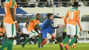 Франция не успя да се справи с Кот д'Ивоар (видео)