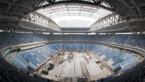 Първи арест покрай драмата с новия стадион в Санкт Петербург