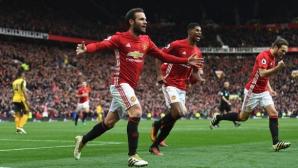 Венгер избегна загубата от Моуриньо след един точен удар на Арсенал (видео)