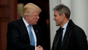 Доналд Тръмп на среща с един от новите собственици на UFC