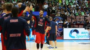 ЦСКА (М) се сбогува с шампион на НБА