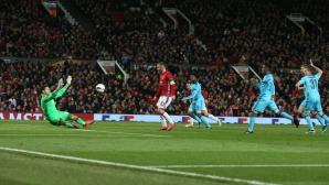 Манчестър Юнайтед се развихри (видео)