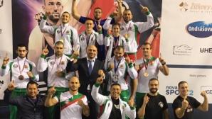 Националните ни състезатели по ММА записаха впечатляващ успех  по време на Европейското първенство
