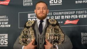 """UFC отне колана на Конър Макгрегър в категория """"перо"""""""