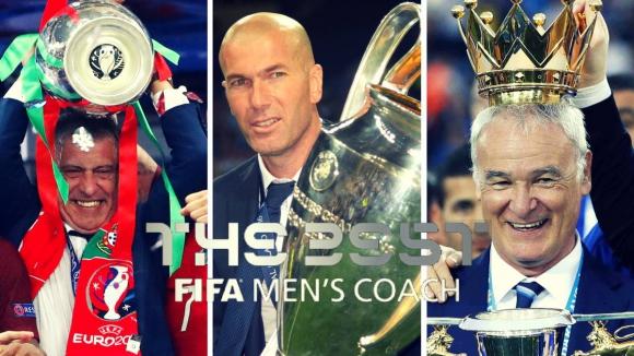 ФИФА избра тримата най-добри треньори