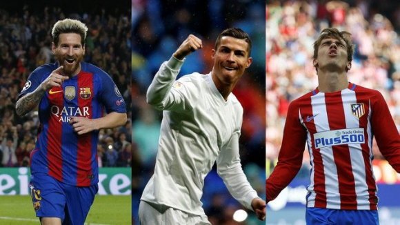 ФИФА посочи тримата най-добри футболисти за 2016-а