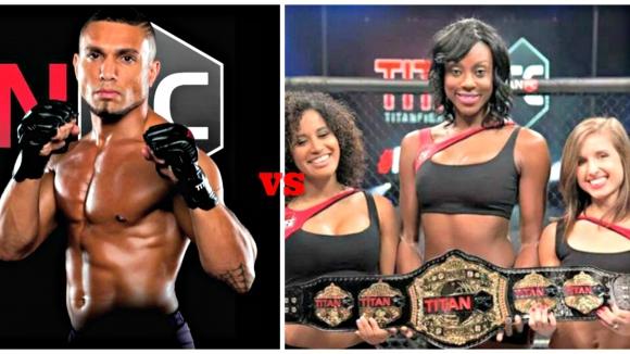 Брутално! MMA Боец на Titan FC удари ринг-момиче в клетката (видео)
