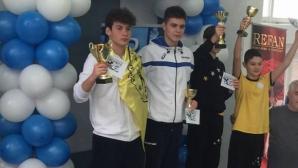 """Плувните Спортни таланти на """"Еврофутбол"""" с шест златни медела от турнир """"Спринт"""""""