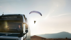 Volvo Trucks представя: The Flying Passenger (Видео)