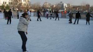 Пловдивчани ще се радват на най-голямата открита ледена пързалка у нас