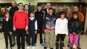 """Министър Кралев получи специалната награда на Спешъл Олимпикс и фондация """"Про Спорт"""""""