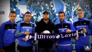 Фенове и футболисти на Левски с нов жест към пострадалите от земетресението в Италия (видео)