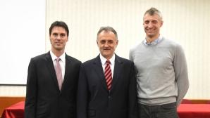 Зоран Гаич и Иван Милкович начело на волейбола в Сърбия