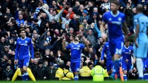 Непобедимият Челси мина и през Манчестър Сити, грозни сцени в края (видео)