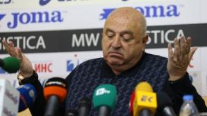 Венци Стефанов: Толкова помия, че не зная с какви препарати да чистим