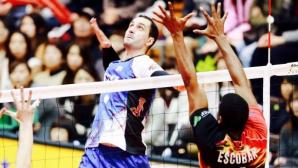 Супер Матей Казийски с 30 точки, ДжейТЕКТ с драматична загуба от шампиона в Япония