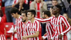 Атлетик Билбао спечели малкото баско дерби
